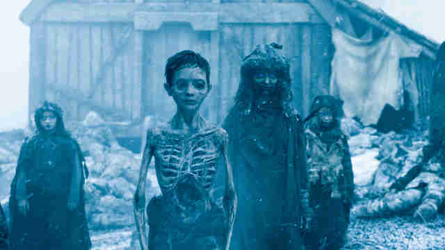 white walker kids game of thrones
