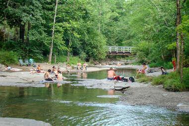 millstream swimming hole