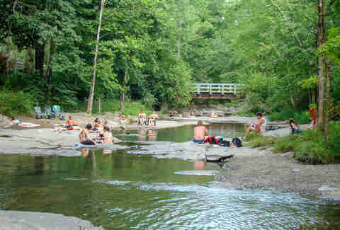 millstream swimming hole