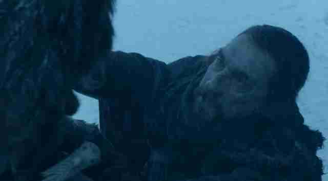 benjen saves jon snow game of thrones