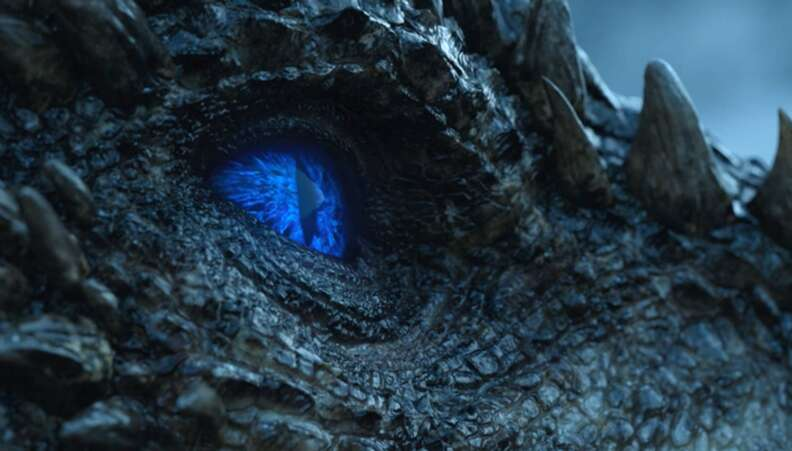 game of thrones season 7 viserion dragon white walker
