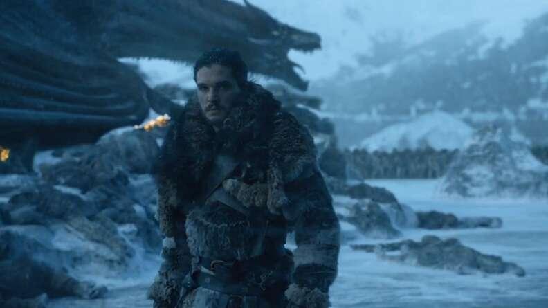 jon snow dragon game of thrones season 7
