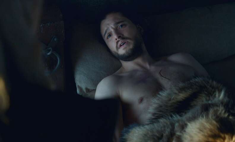 jon snow shirtless game of thrones season 7