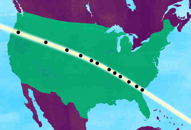 What the Eclipse Felt Like in States That Saw Totality