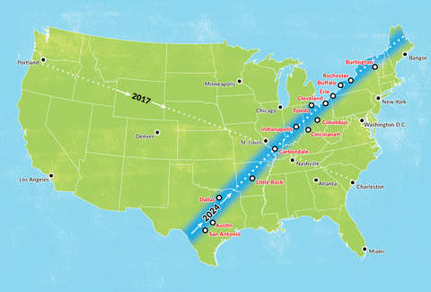 Best Cities to Visit for the Next Solar Eclipse in 2024