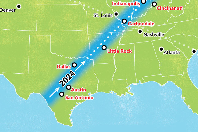 Best Cities To Visit For The Next Solar Eclipse In 2024 Thrillist