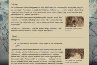 children of the forest wikia page