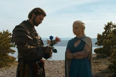 daario and daenerys targaryen