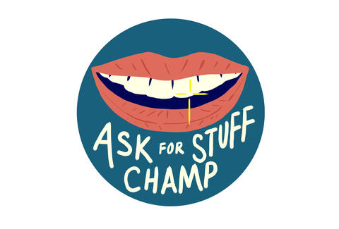 ask for stuff