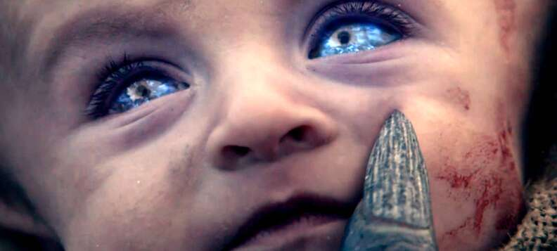 Baby Blue Game of Thrones