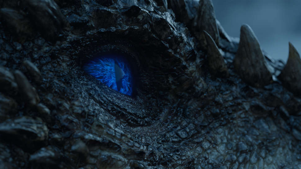 viserion's white walker eye
