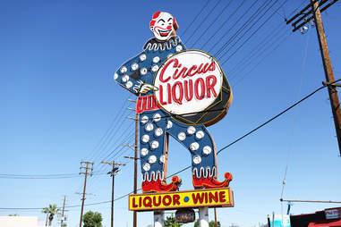 Best Neon Bars Circus Liquor Bulleit   Supercall