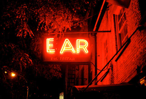 Best Neon Bar Signs | Ear Inn| Bulleit | Supercall