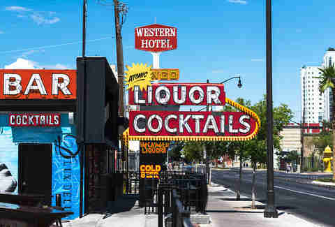 Best Neon Bar Signs | Atomic Liquor | Bulleit | Supercall
