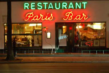 Paris Bar   World's Best Neon Bar Signs   Bulleit   Supercall
