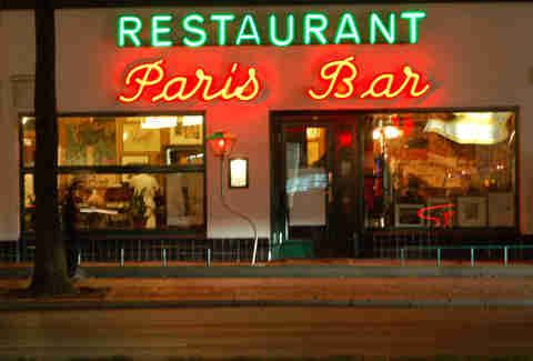 Paris Bar | World's Best Neon Bar Signs | Bulleit | Supercall