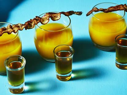 irish breakfast shot drink brunch