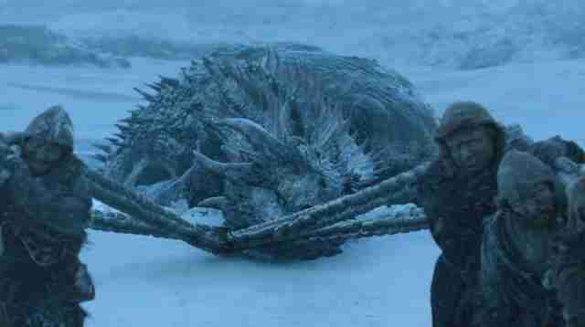 viserion game of thrones season 7