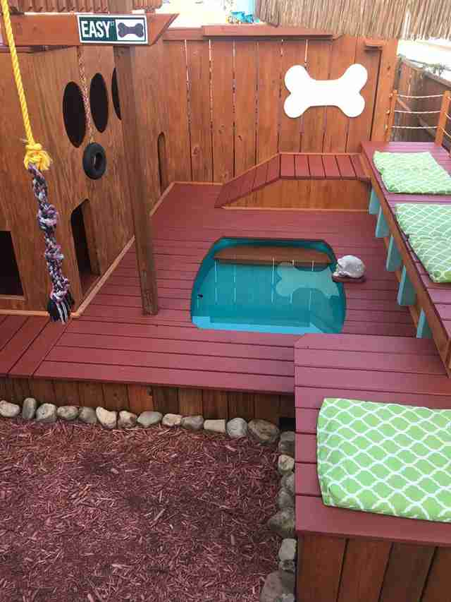 Share on Facebook ... - Guy Turns Backyard Into A Huge Dog Playground - The Dodo