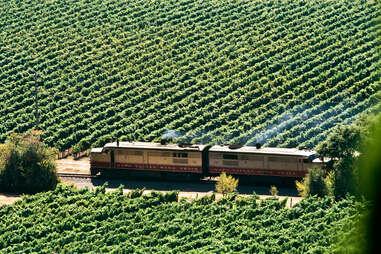 Wine Train, Napa Valley, California