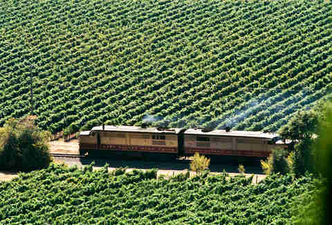 Wine Train, Napa Valley, California
