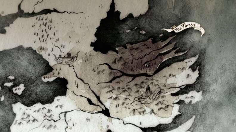 littlefinger the finger map