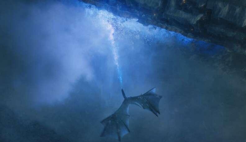 the wall dragon season 7 game of thrones