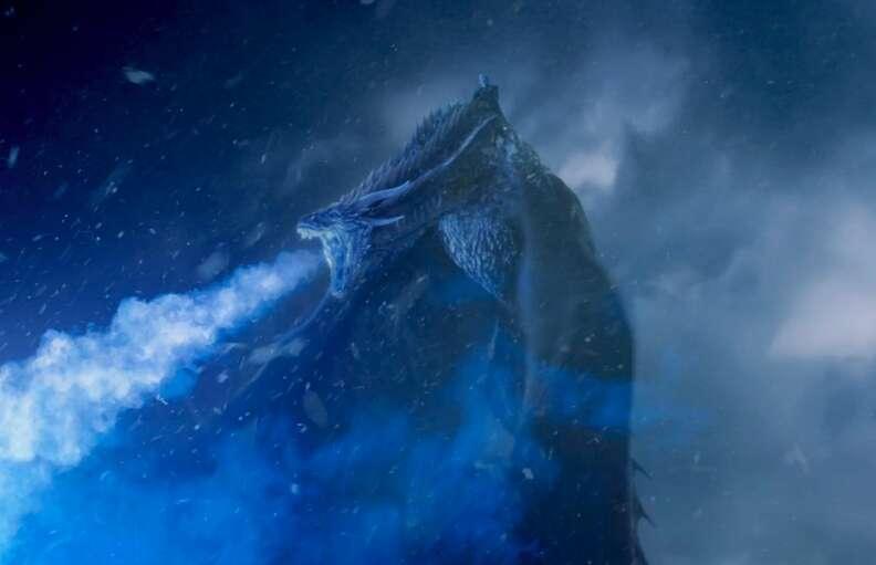 viserion white walker ice dragon season 7 game of thrones