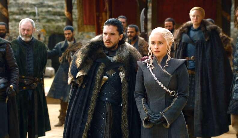 jon snow daenerys game of thrones season 7 finale