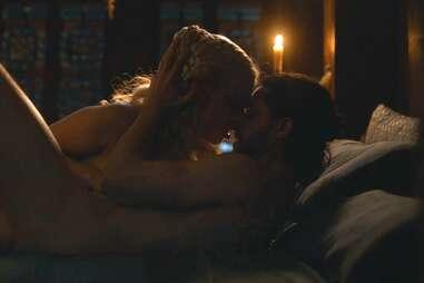 jon daenerys sex scene game of thrones