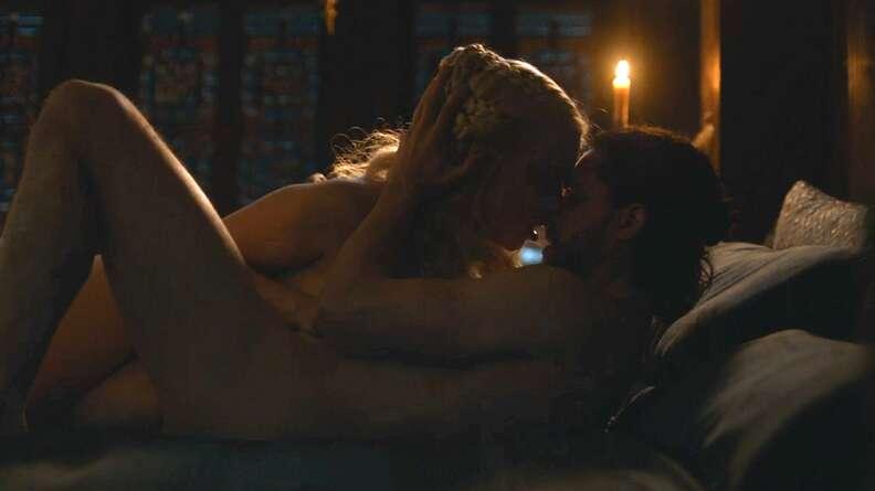 game of thrones jon snow daenerys sex scene