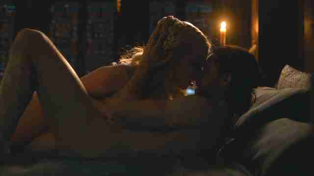 game of thrones jon snow daenerys sex scene
