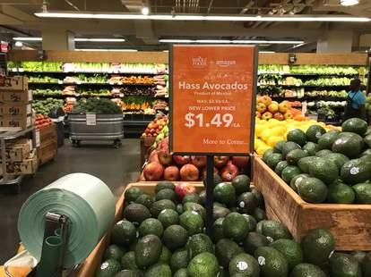 whole foods amazon avocados