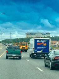 traffic leaving hurricane harvey