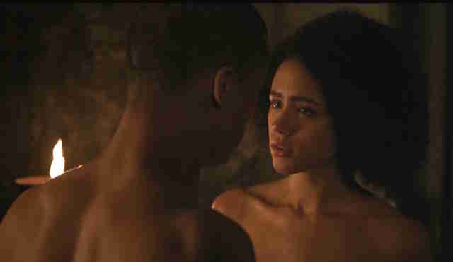 missandei and grey worm sex scene