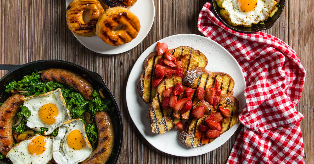 Breakfast On The Grill: Best Recipes For Grilled Breakfast