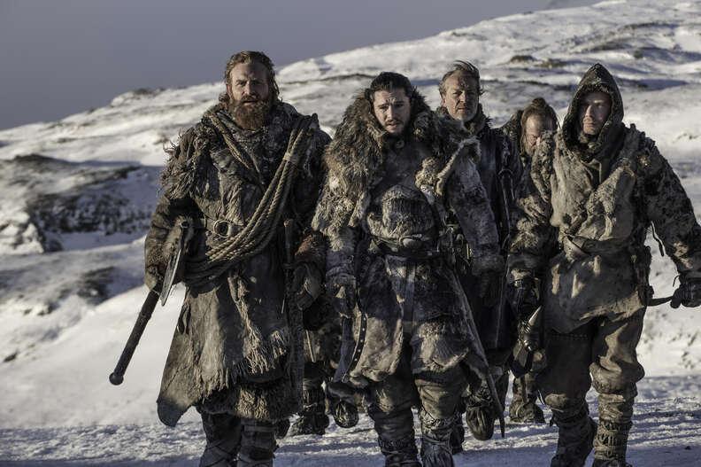 game of thrones season 7 beyond the wall jon snow