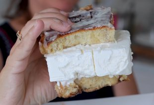 These Ice Cream Sandwiches Have a Breakfast Twist