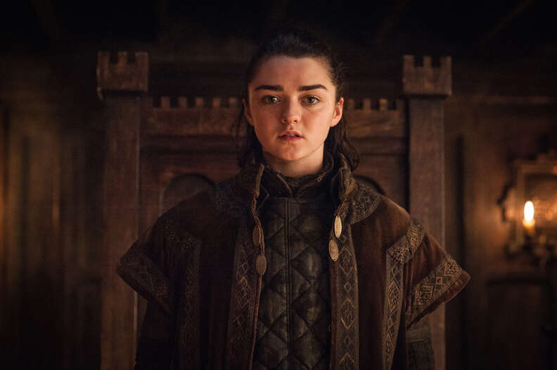 arya on game of thrones