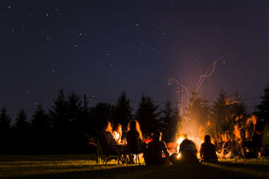 how to have fun while camping