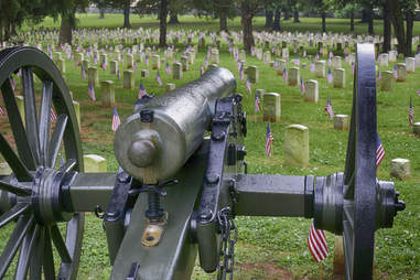 Stones river Battlefield cemetery
