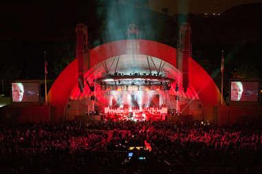 Hollywood bowl amphitheater