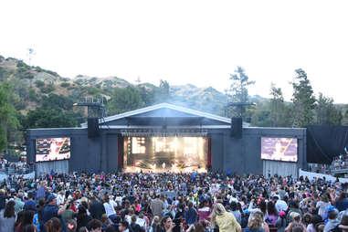 greek theatre, los angeles, california