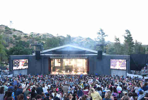 greek theatre, los angeles, california
