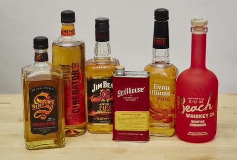 The Best Cinnamon Whiskey Brands That Aren't Fireball