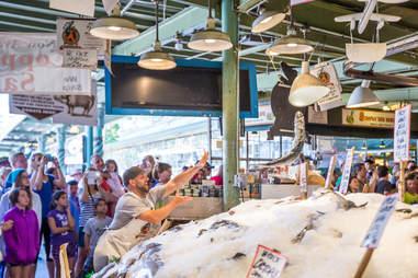 pike place market fish