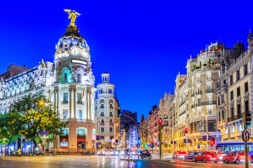 Thing to do in madrid spain thrillist gran via madrid spain emperorcosarshutterstock solutioingenieria Choice Image