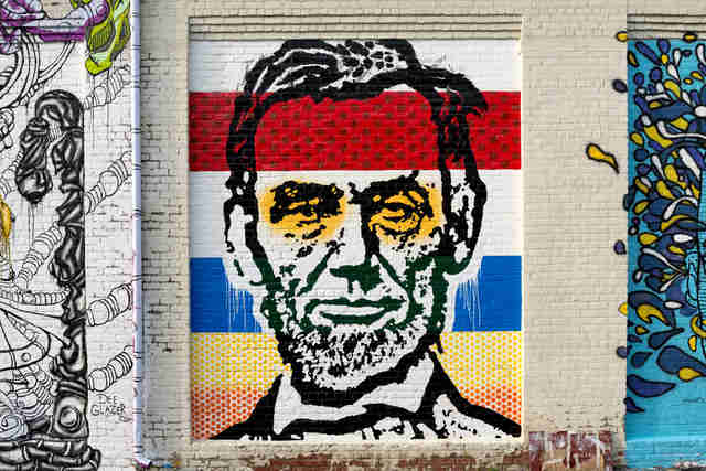 Abraham Lincoln Graffiti