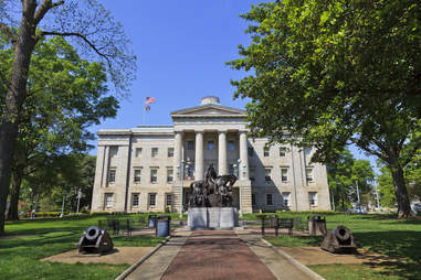 North Carolina State Capitol Building in Raleigh