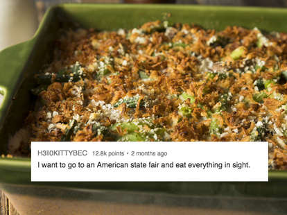 foods tourist want to eat in the United States
